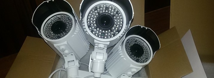 camara vigilancia exterior 60 Mts VISIÓN NOCTURNA 72 leds -900TVL VARIFOCAL ingenieria lacustre